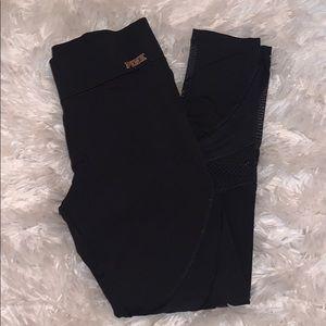 Black PINK mesh leggings. Good condition